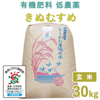 滋賀県産 きぬむすめ玄米30�
