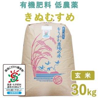 滋賀県産 きぬむすめ玄米30kg
