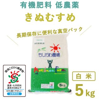 滋賀県産 きぬむすめ真空白米5kg