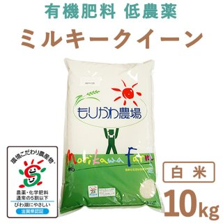滋賀県産 ミルキークィーン 白米 10kg