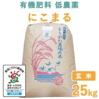 滋賀県産 にこまる 玄米 25kg