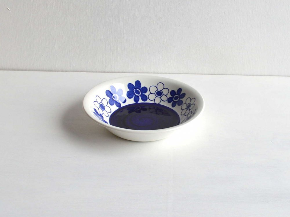 Soup Plate/Anemon Blue