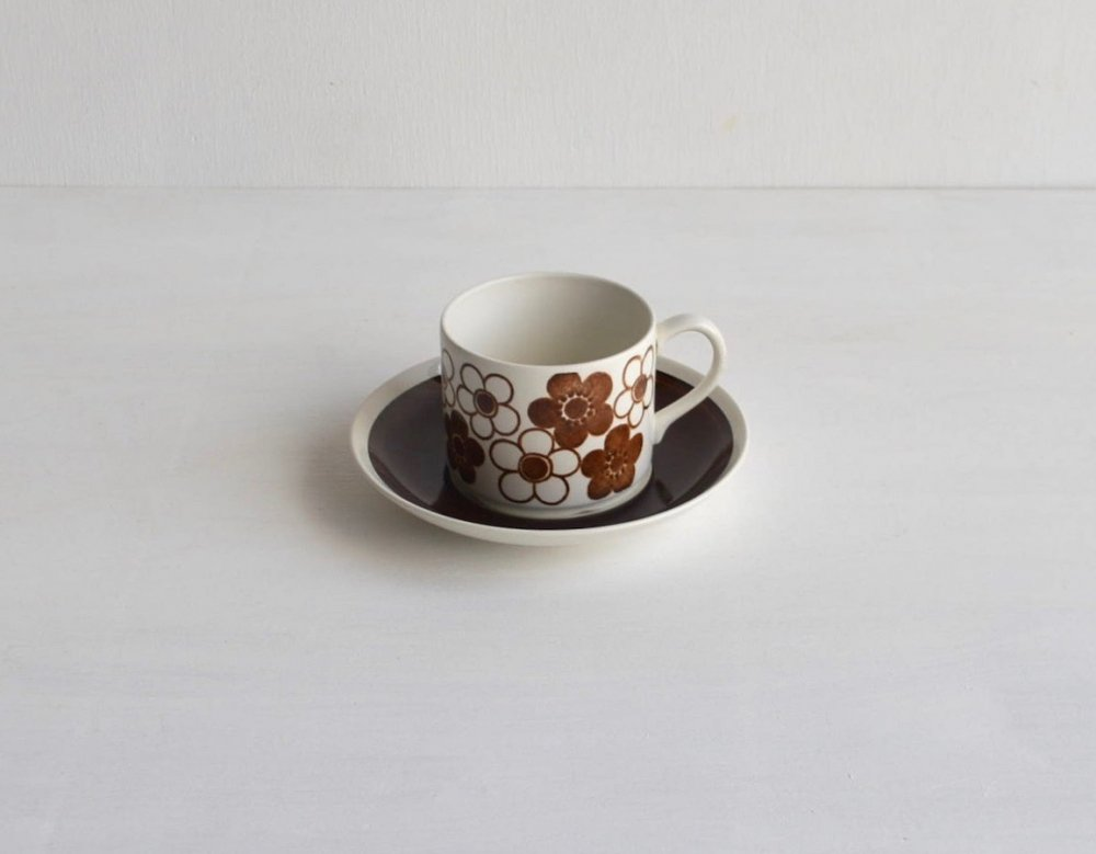 Coffee Cup & Saucer/Anemon