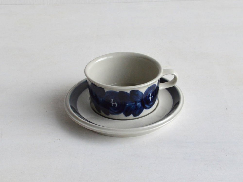 Tea Cup & Saucer / Anemone