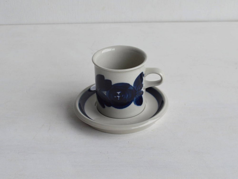 Coffee Cup & Saucer /Anemone