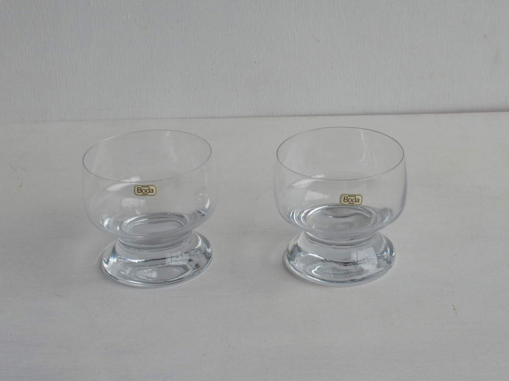 Dessert Glass Set/ Porter