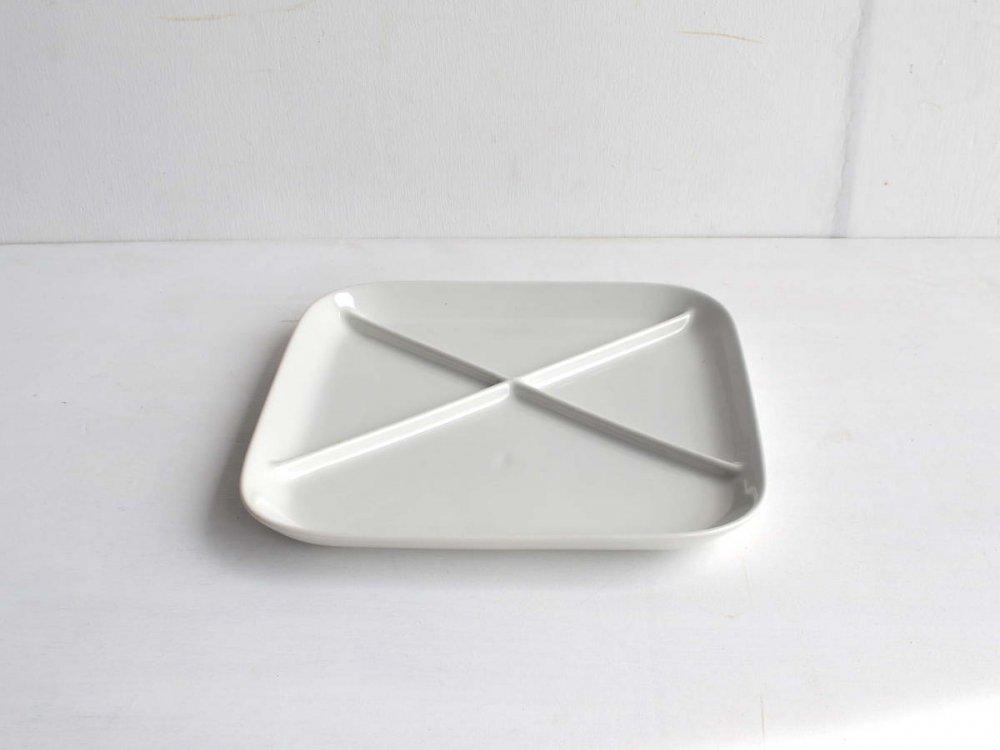 Plate  白 四角