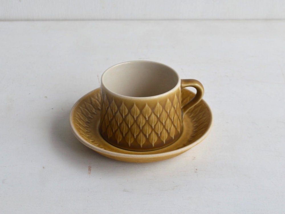 Cup & Saucer / Relief