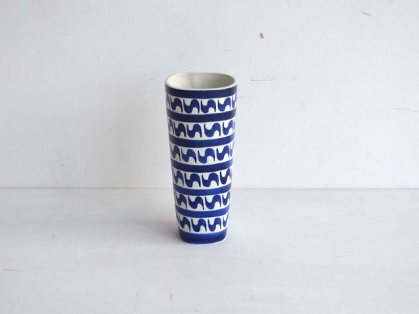 Flower Vase / Indigo