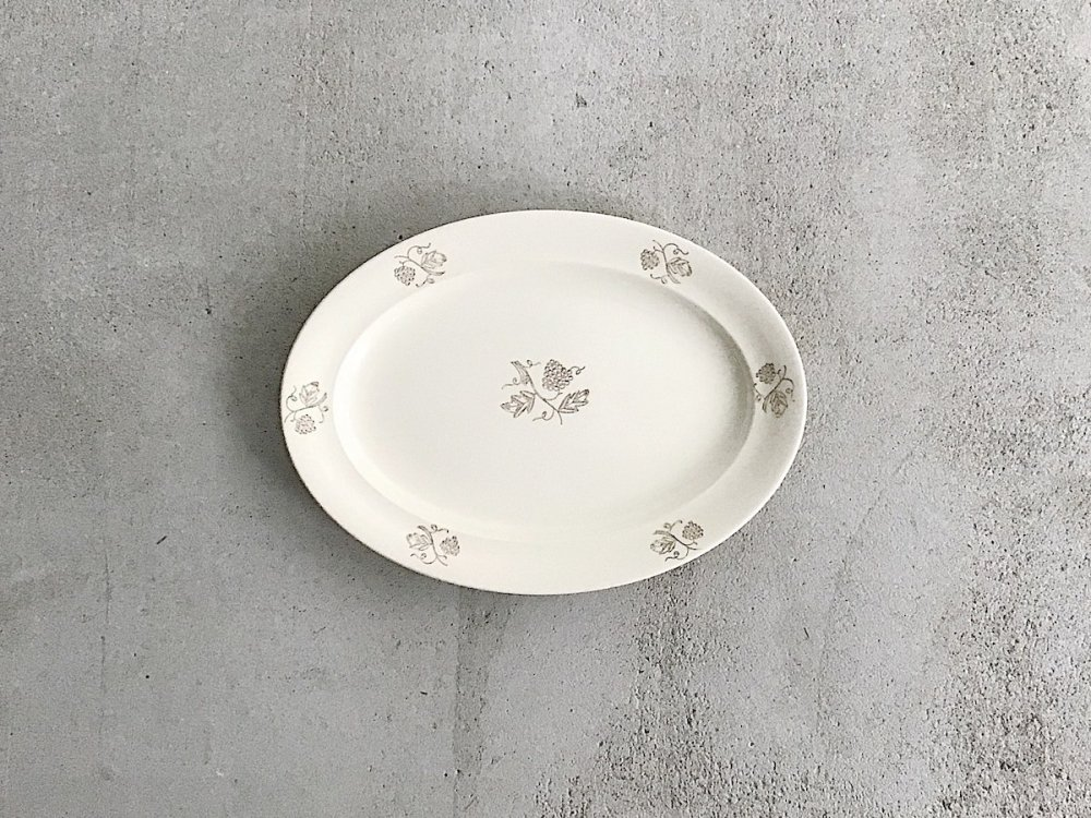 Oval  Plate ( 3 )