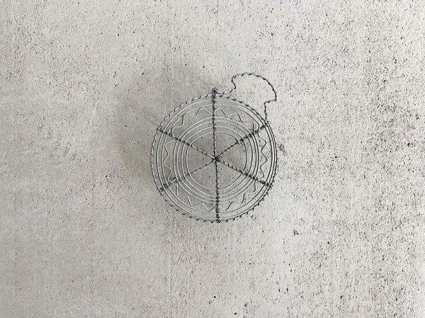 Wire  Pot  Mat