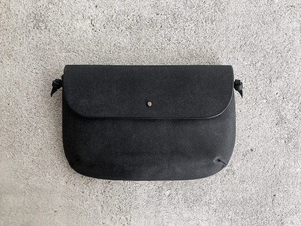 safuji  kinariバッグ(マチ深ポケット付)/  ブラック