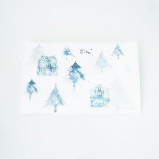 ポストカード あがたの森・冬