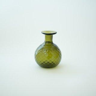 野の花小瓶 グリーン ダイヤ