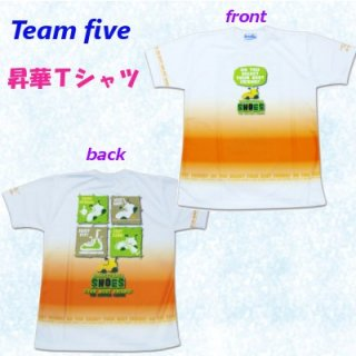 team five リミテッド昇華Tシャツ ATL-027-11