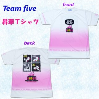 team five リミテッド昇華Tシャツ ATL-027-14