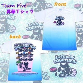 team five リミテッド昇華Tシャツ ATL-031-02