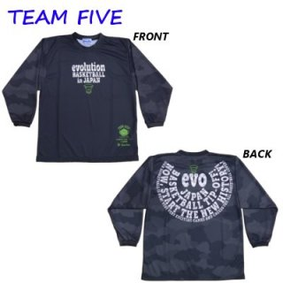 Teamfive 昇華ロンシャツ ALL-060-07