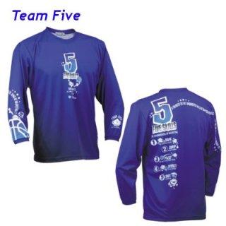 Teamfive 昇華ロンシャツ ALL-067-10