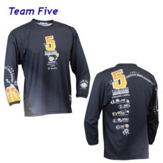 Teamfive 昇華ロンシャツ ALL-067-07