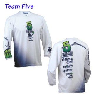 Teamfive 昇華ロンシャツ ALL-067-08