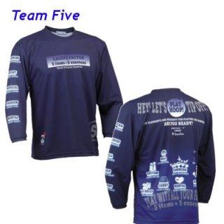 Teamfive 昇華ロンシャツ ALL-068-01