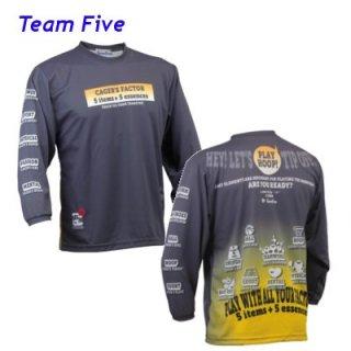 Teamfive 昇華ロンシャツ ALL-068-12