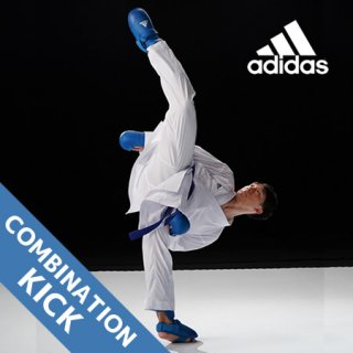 <img class='new_mark_img1' src='//img.shop-pro.jp/img/new/icons24.gif' style='border:none;display:inline;margin:0px;padding:0px;width:auto;' />アディダス adidas WKF公認 コンビネーションキック