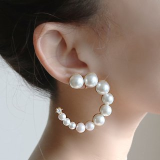 FORM PEARL <br>collon<br>-earring