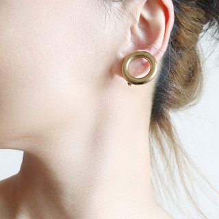 LOOP<br>SV/GD<br>-earrings