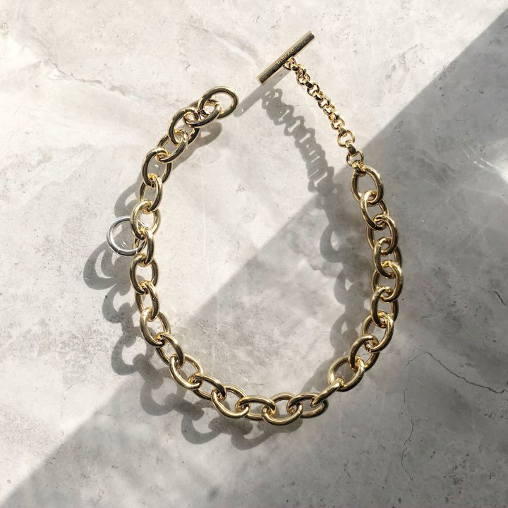 OVAL<br>GD<br>-necklace