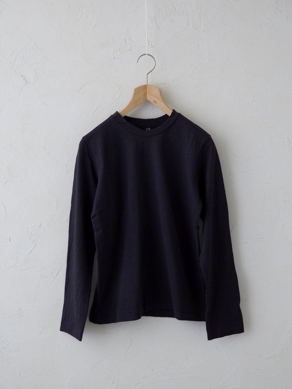 & Twelve Linen(天竺)長袖Tシャツ (Ladies' & Men's)