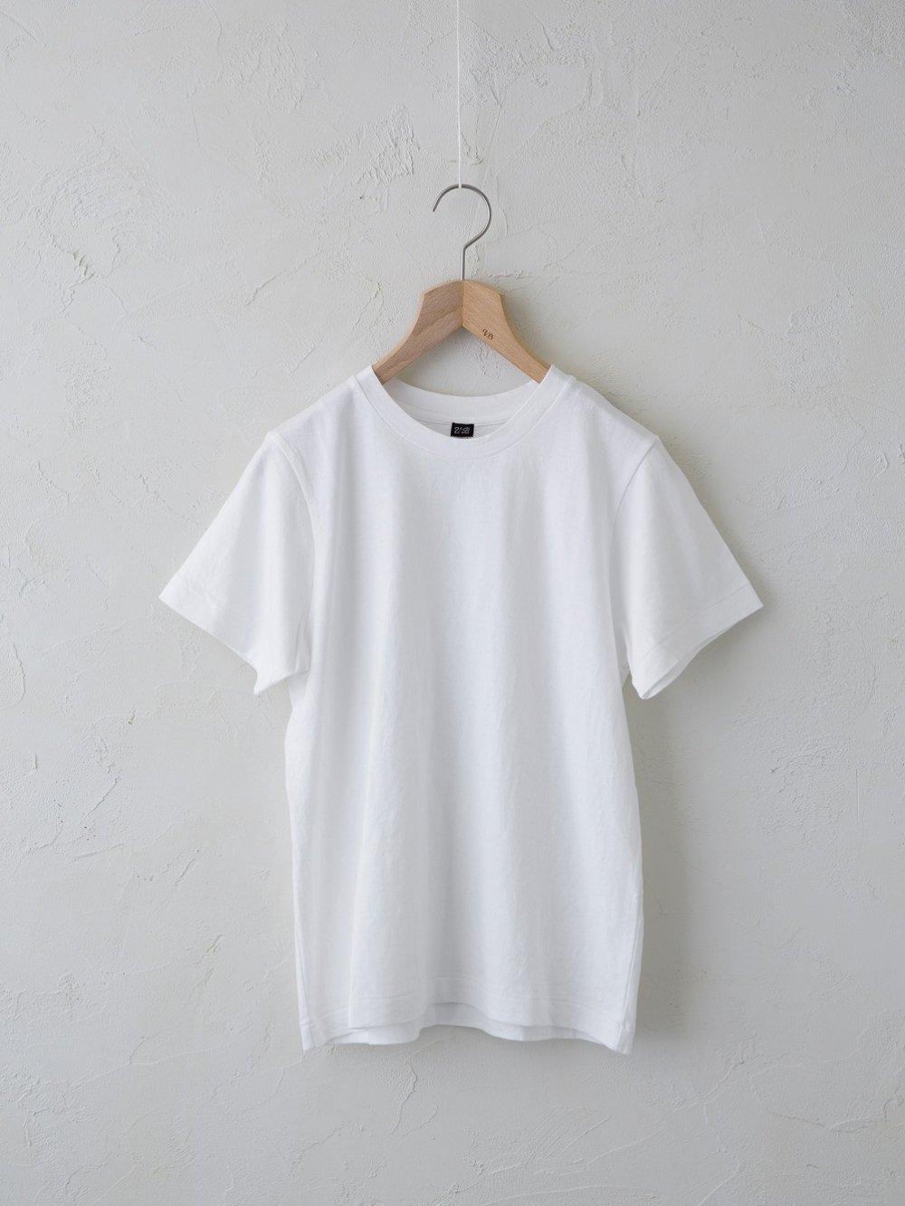 & Twelve Linen(天竺)半袖Tシャツ (Ladies' & Men's)