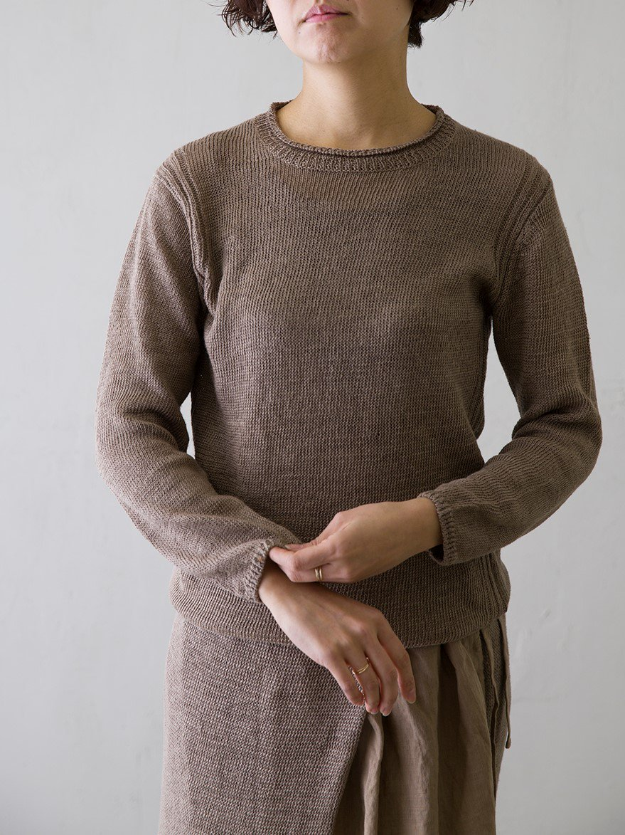Gently Linen プルオーバー (Ladies' & Men's)