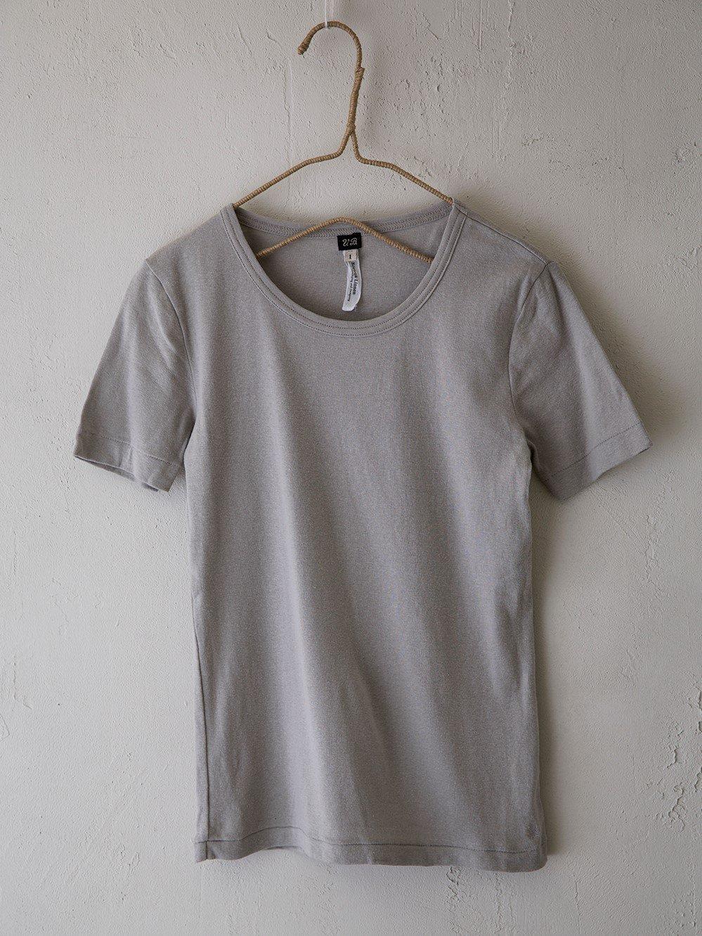 & Twelve Linen(フライス)半袖Tシャツ