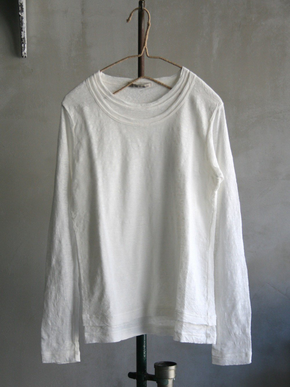 薄手天竺 レイヤード長袖Tシャツ(Ladies' & Men's)