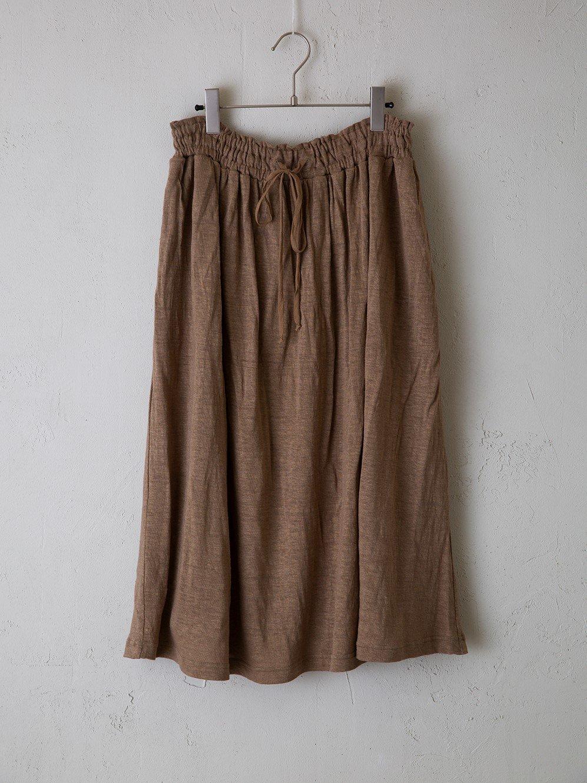 レギュラー天竺 ギャザースカート