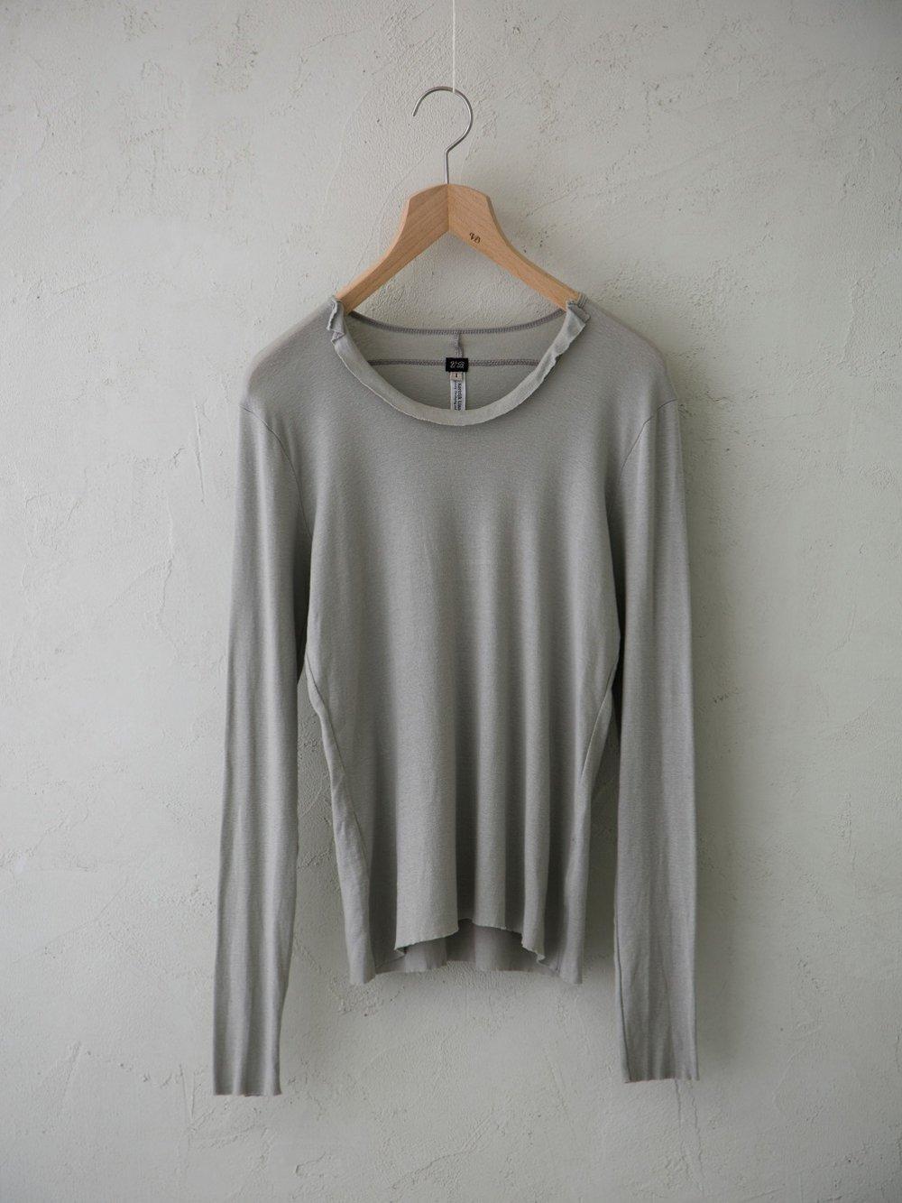 & 12 Linen(フライス)フリルプルオーバー -standard-
