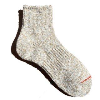 【奈良県産靴下】L型スラブネップ SOCKS TMSO-002 BG(ベージュ)