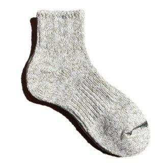 【奈良県産靴下】L型スラブネップ SOCKS TMSO-002 GY(グレー)