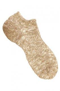 毎日履くものだからこその「こだわり」冬は暖かく、夏は涼しい。春夏の定番スニーカータイプソックス。ベージュ(TMSO-003 BG)