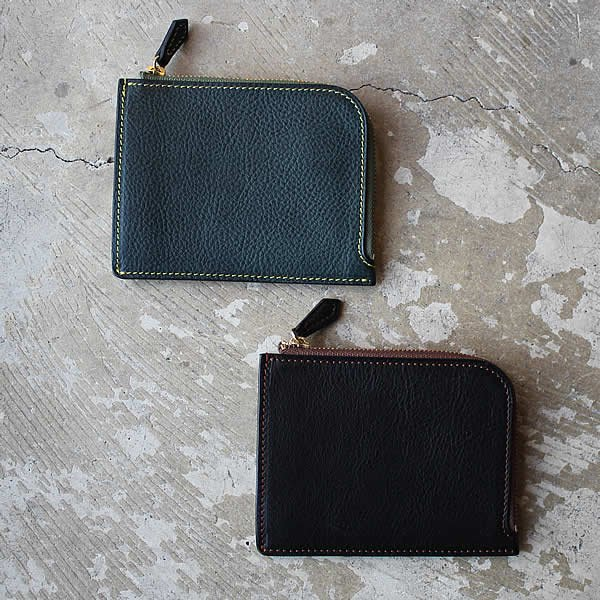 Atelier de vêtements×Ad maiora Designare / leather zip wallet