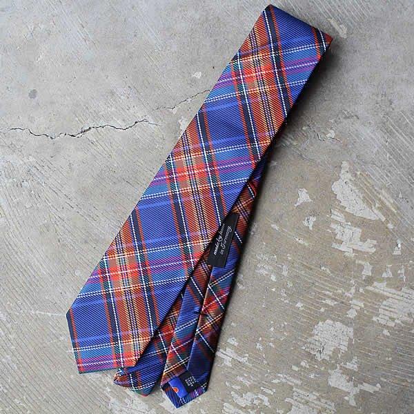 Ascot / Silk Tie (チェック)