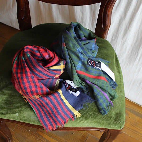 Ascot / Cotton Check Stole