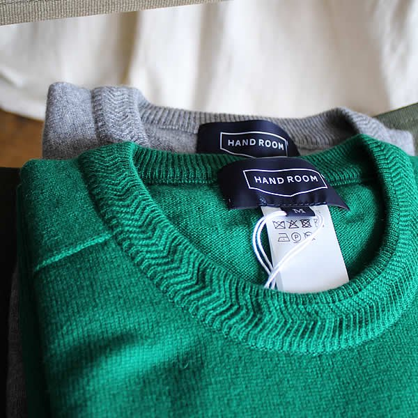 HAND ROOM / cashmere 100 knit