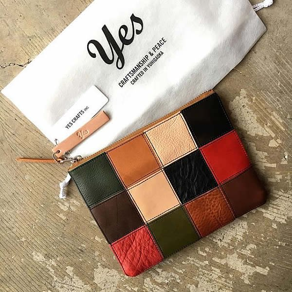*受注生産*yes / (exclusive color order) SQUARE POUCH - (S)