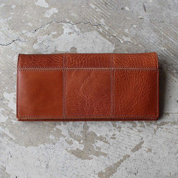 yes / (exclusive color order) SQUARE LONG BILLFOLD