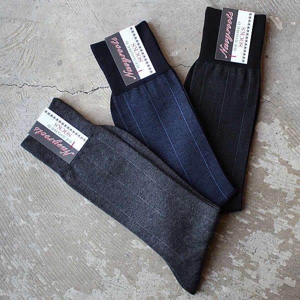 Navy Roots / high gauge sox-b
