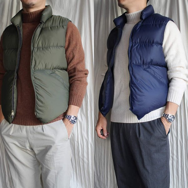 CRESCENT DOWN WORKS / North By Northwest Vest