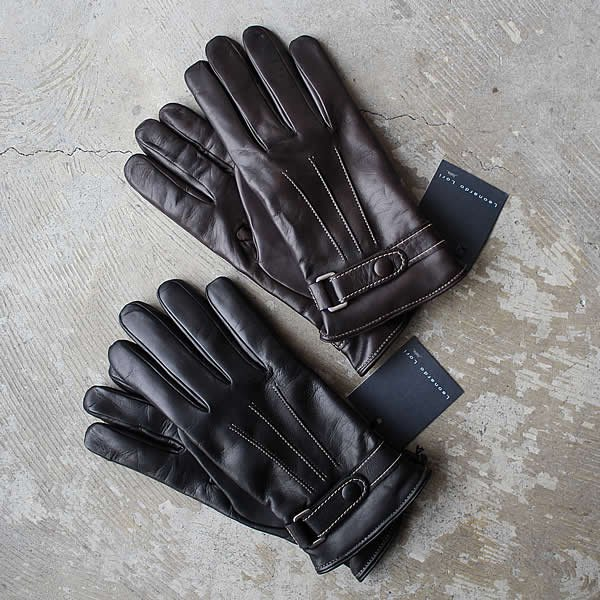 <img class='new_mark_img1' src='https://img.shop-pro.jp/img/new/icons59.gif' style='border:none;display:inline;margin:0px;padding:0px;width:auto;' />LEONARDO LORI / lamb nappa cashemere lining glove